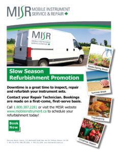 MISR Slow Season Refurbishment Flyer