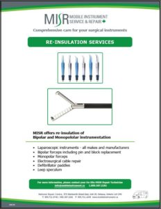 MISR Re-Insulation Service Flyer