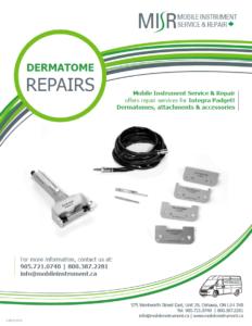 MISR Dermatome Repair Flyer