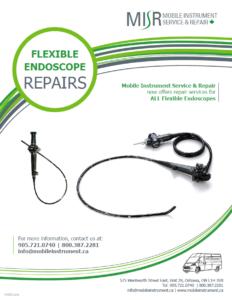 MISR Flexible Endoscope Repair Flyer