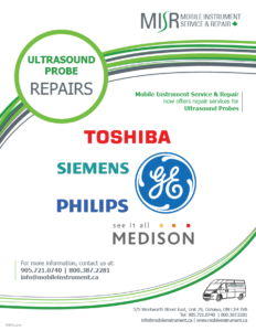 MISR Ultrasound Probe Repair Flyer