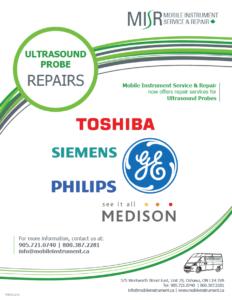 MISR Ultrasound Probe Repair Flyer