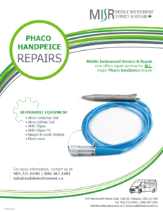 MISR Phaco Handpeice Repair Flyer
