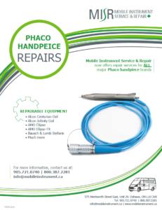 MISR Phaco Handpeice Repair Flyer
